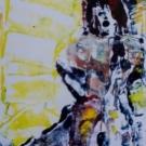 Kooks, Monoprint, 21X15cm