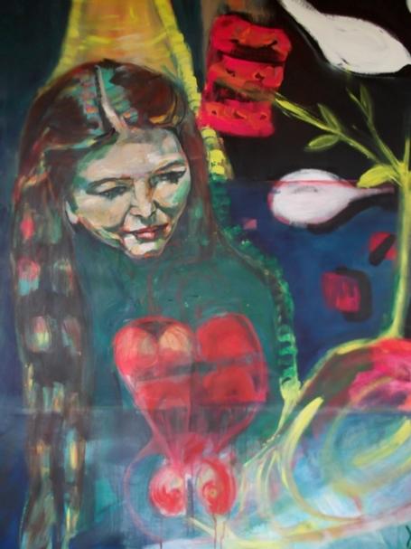 love story, acrylic, 140X100cm- nfs