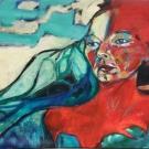 Tears of anger, acrylic on canvas, 60X100cm, nfs