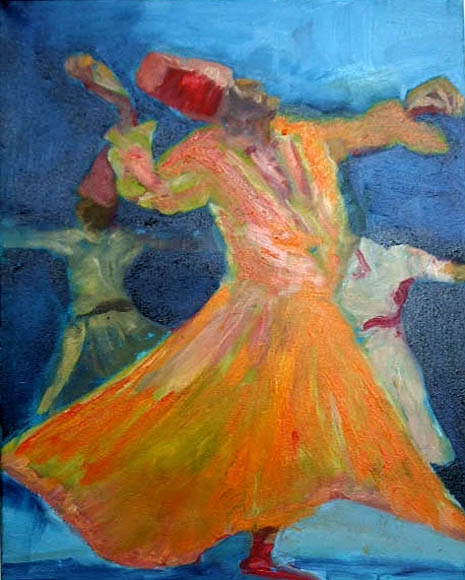 Sufi swing 1, 40X60, oil