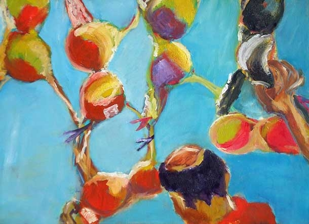 bras galore, oil on canvas, 60X80cm- SOLD!