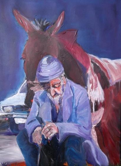 Modern Choices, oil on canvas, 50 x 70 cm