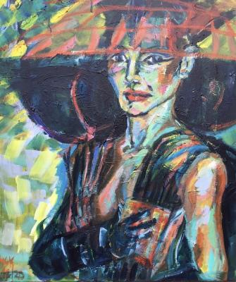 Grace, acrylic on canvas, 80x60cm