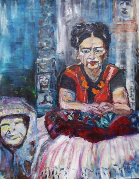 Another Frida, oil on canvas, 110 x 120 cm