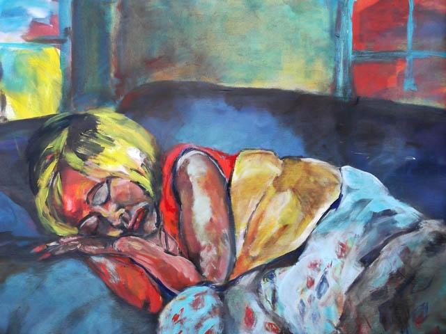 From Dusk till Dawn, acrylic o canvas, 130 x 100 cm
